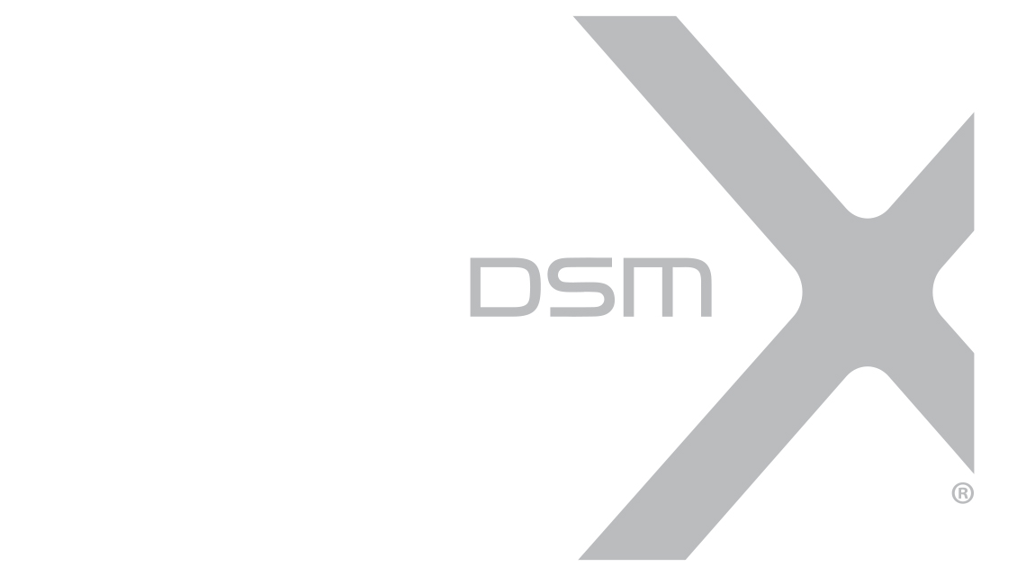 A vector rendering of the DSMX logo