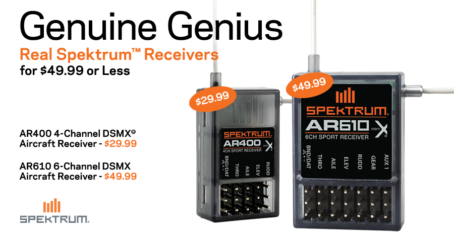 AR610 and AR400 Receivers
