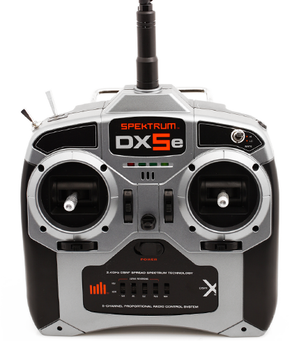DX5e DSMX 5-Channel Transmitter/Receiver Only MD2 (SPM5510): Spektrum - The Leader in Spread