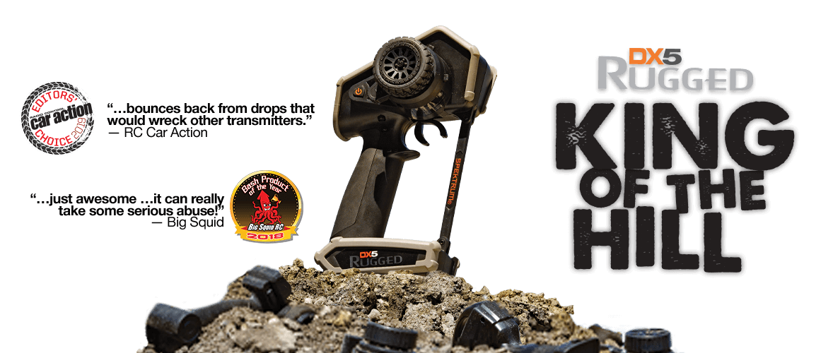 DX5 Rugged - King of the Hill - Editors Choice